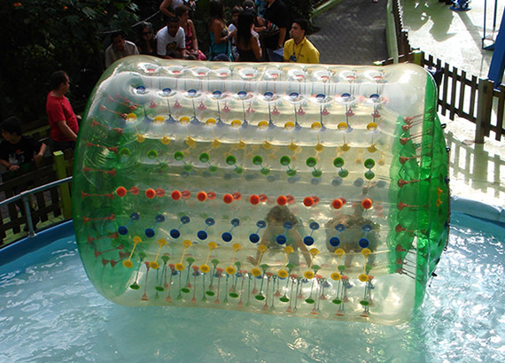 Cilindro Acuático Inflable